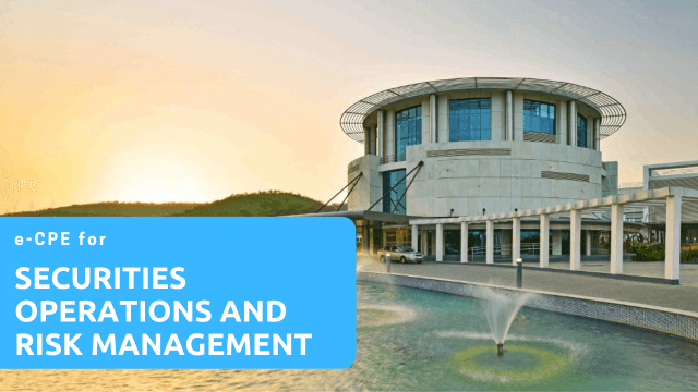 eCPE for NISM Securities Operations and Risk Management